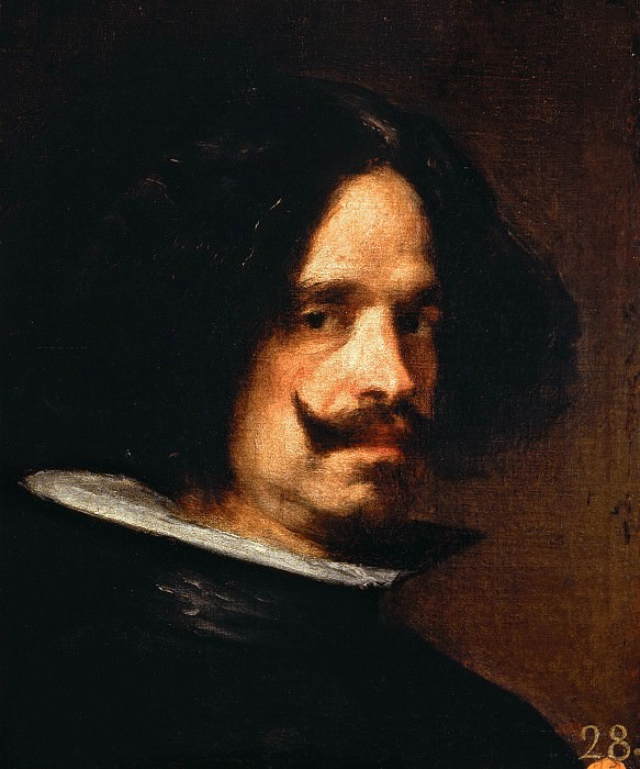 Self-Portrait. Diego Rodriguez De Silva y Velazquez