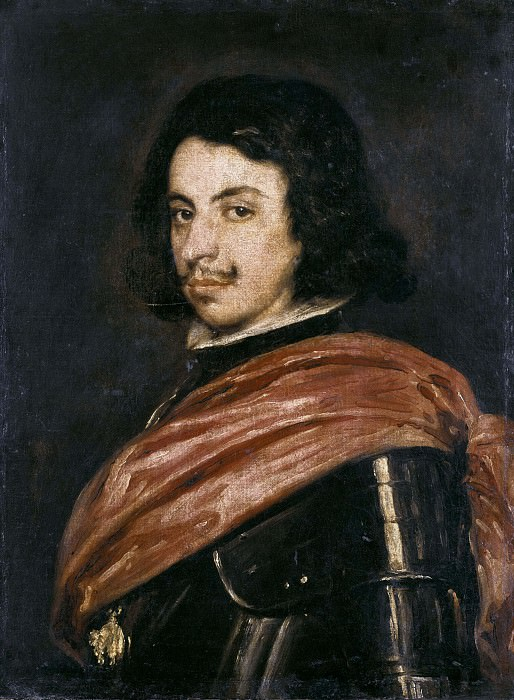 Portrait of Francesco I d'Este. Diego Rodriguez De Silva y Velazquez