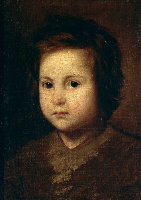Портрет ребёнка. Диего Родригес де Сильва и Веласкес