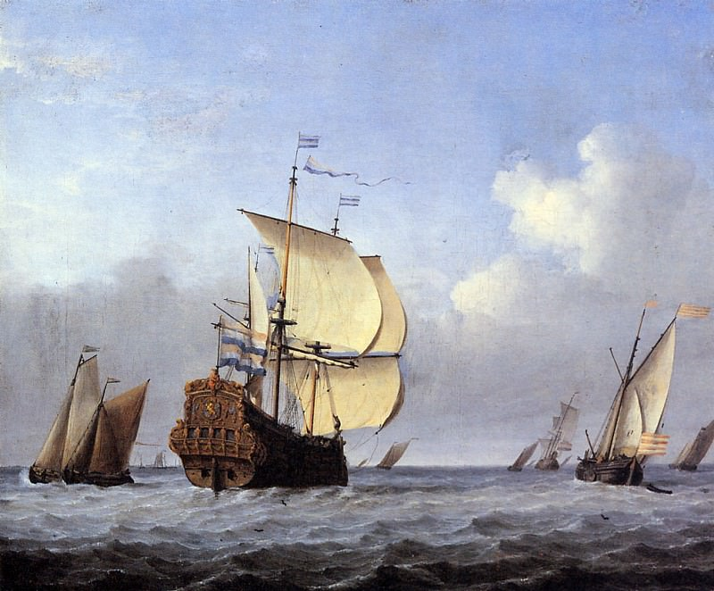 Velde van de Willem II Sea Sun. Willem van de Velde the Younger