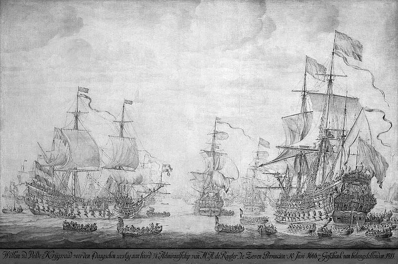 Velde I van de Willem Court martial at sea Sun. Willem van de Velde the Younger