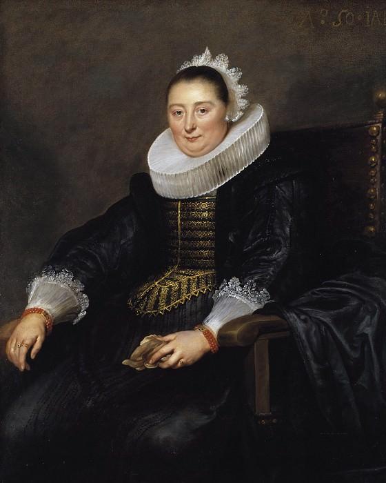 Portrait of a Lady. Cornelis de Vos