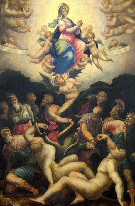 Allegory of the Immaculate Conception. Giorgio Vasari