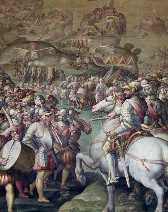Capture of the Porto Ercole. Giorgio Vasari