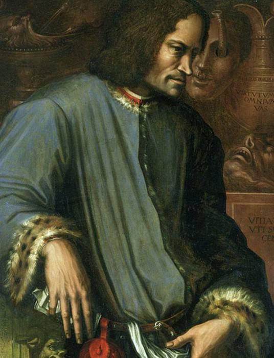 Lorenzo de Medici (1449-1492), The Magnificent. Giorgio Vasari