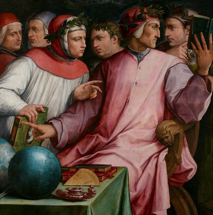 Six Tuscan Poets. Giorgio Vasari