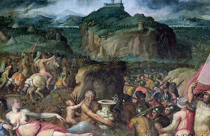 The Siege of San Leo. Giorgio Vasari