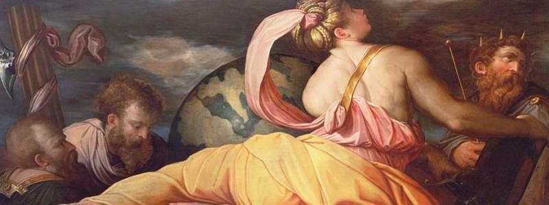 Allegory of Geography. Giorgio Vasari