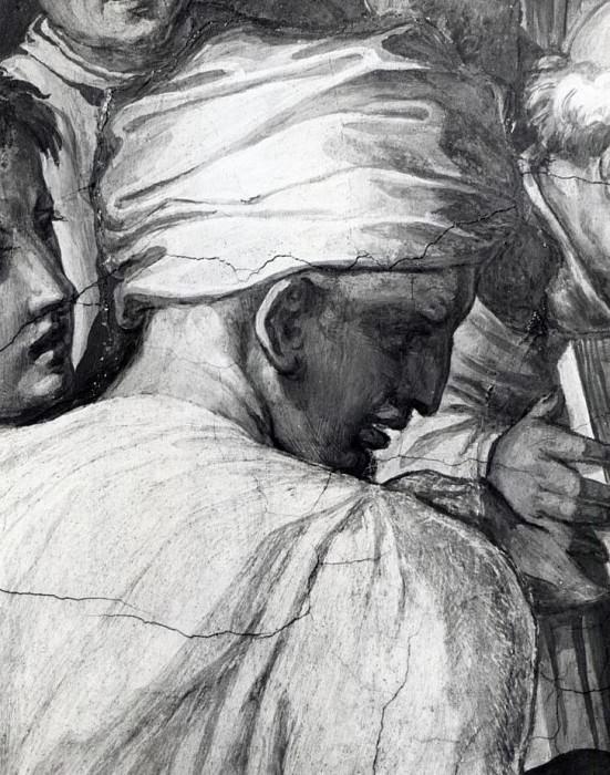 Portrait of Luca della Robbia in the Sala di Cosimo il Vecchio. Giorgio Vasari