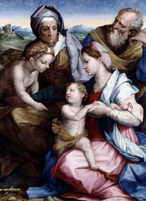 Holy Family. Giorgio Vasari