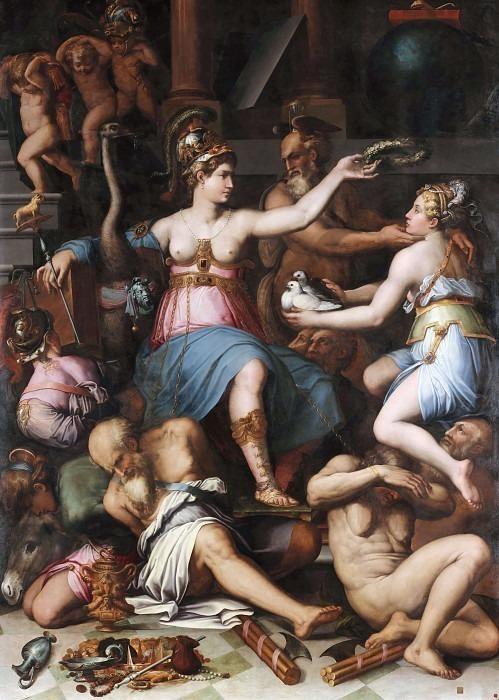 Allegory of Justice. Giorgio Vasari