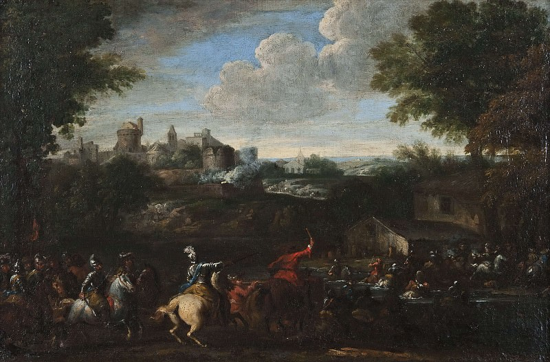 Cavalry Battle. Jacques Courtois (After)