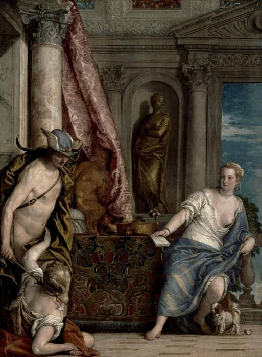 Hermes, Herse and Aglauros. Veronese (Paolo Cagliari)