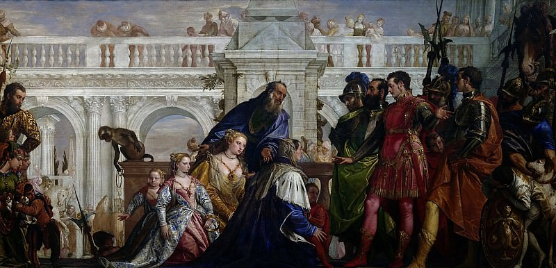 The Family of Darius before Alexander. Veronese (Paolo Cagliari)