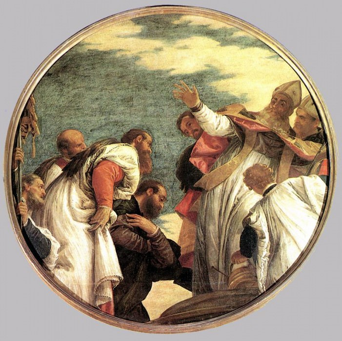 The People of Myra Welcoming St. Nicholas. Veronese (Paolo Cagliari)