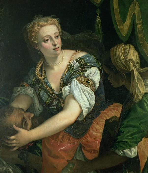 Judith with the head of Holofernes. Veronese (Paolo Cagliari)
