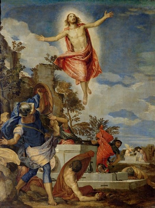 Resurrection of Christ. Veronese (Paolo Cagliari)