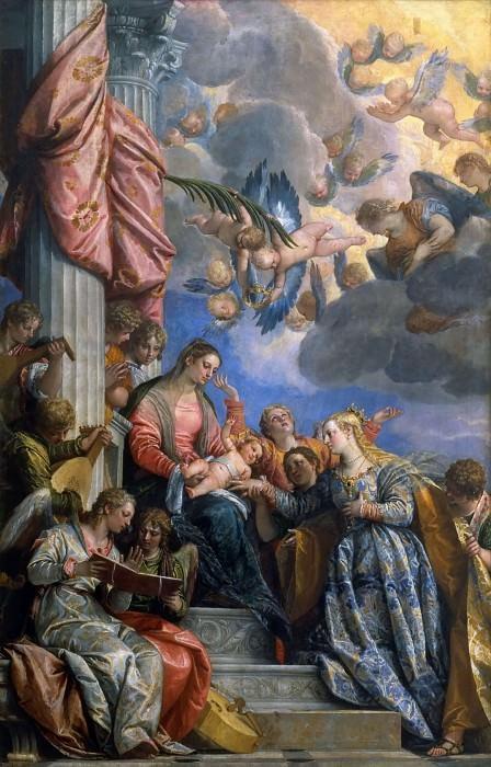 Брак Святой Екатерины. Веронезе (Паоло Кальяри)