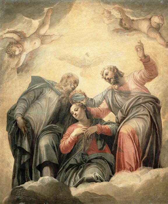 The Coronation of the Virgin. Veronese (Paolo Cagliari)