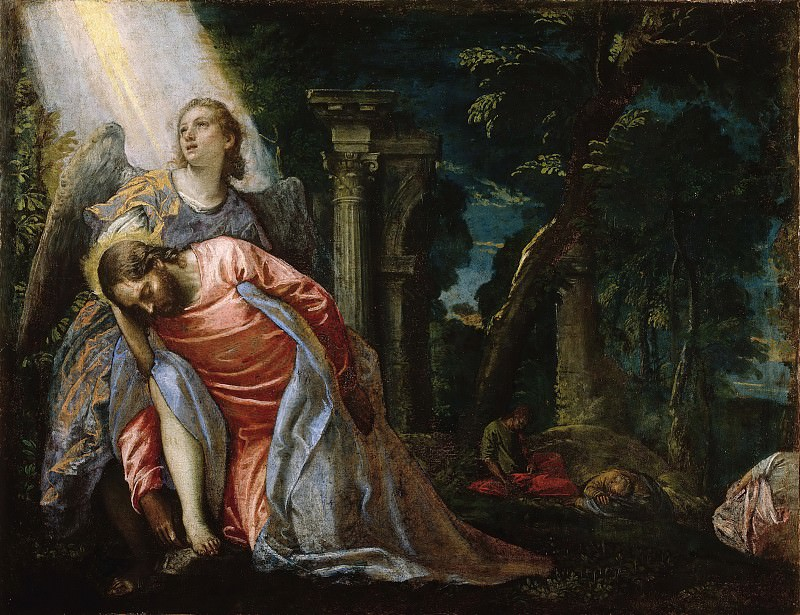 Christ in the Garden of Gethsemane. Veronese (Paolo Cagliari)