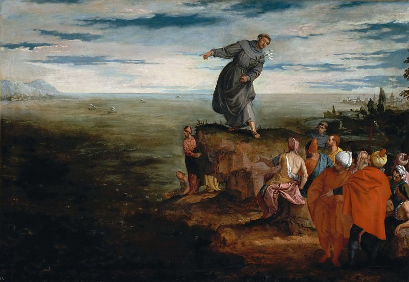 Sermon of Saint Antony of Padua. Veronese (Paolo Cagliari)