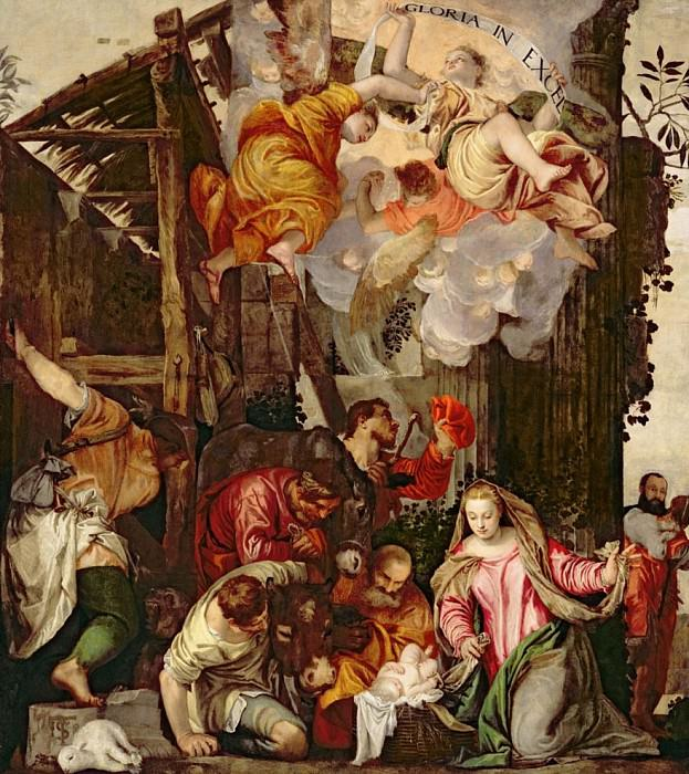 Поклонение пастухов. Веронезе (Паоло Кальяри)