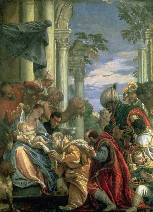 Adoration of the Magi. Veronese (Paolo Cagliari)