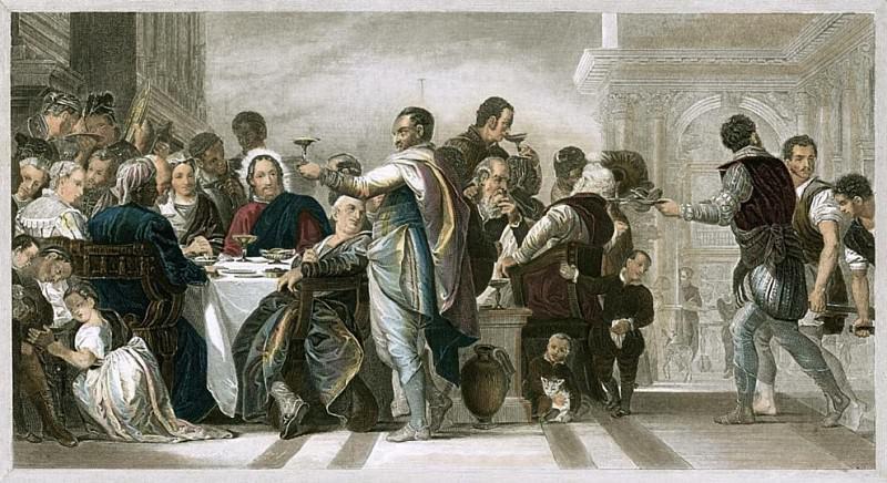 Брак в Кане. Веронезе (Паоло Кальяри)