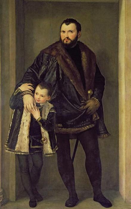 Джузеппе да Порто и его сын Адриано. Веронезе (Паоло Кальяри)