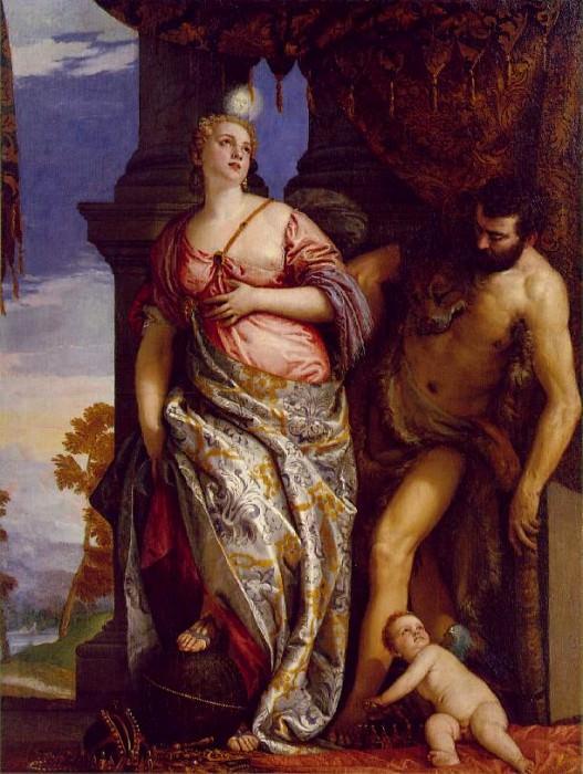 Veronese Allegory of Wisdom and Strength. Veronese (Paolo Cagliari)