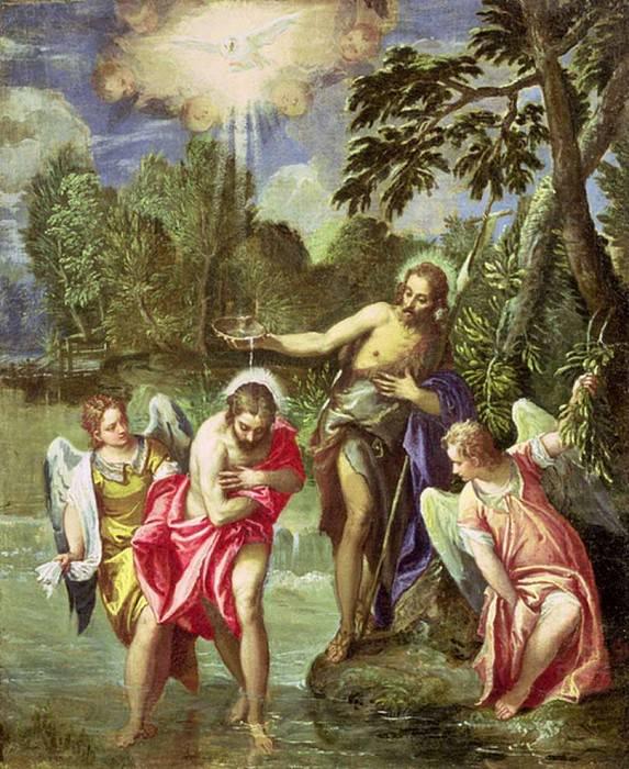 Крещение Христа. Веронезе (Паоло Кальяри)