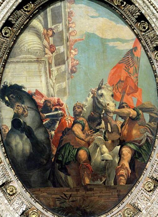 Триумф Мардохея. Веронезе (Паоло Кальяри)
