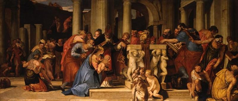 The Presentation in the Temple. Veronese (Paolo Cagliari)