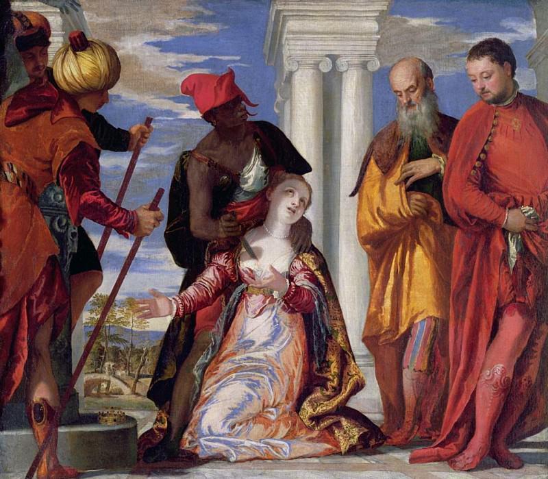 Мученичество святого Юстина. Веронезе (Паоло Кальяри)