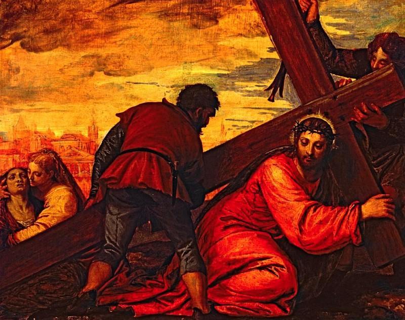 Христос тонет под тяжестью креста. Веронезе (Паоло Кальяри)