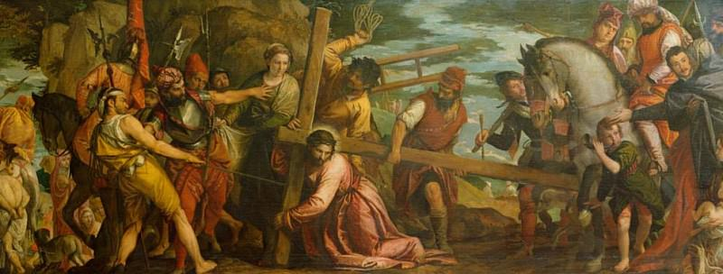 Christ Carrying the Cross. Veronese (Paolo Cagliari)