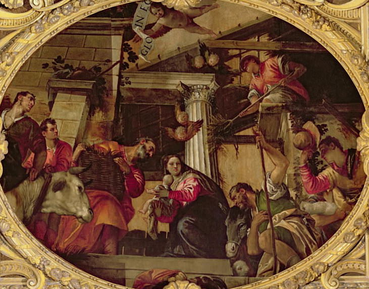 Adoration of the Shepherds. Veronese (Paolo Cagliari)