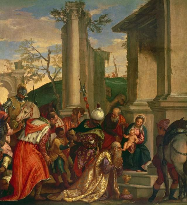 Adoration of the Kings. Veronese (Paolo Cagliari)