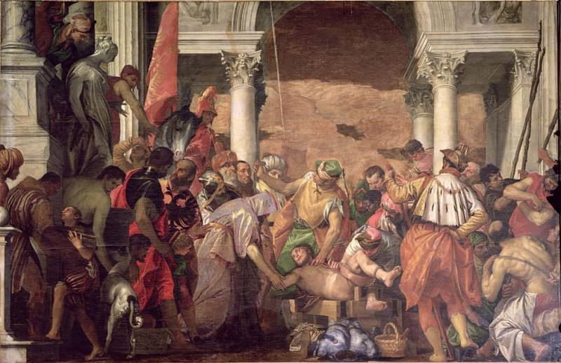 Мученичество святого Себастьяна. Веронезе (Паоло Кальяри)