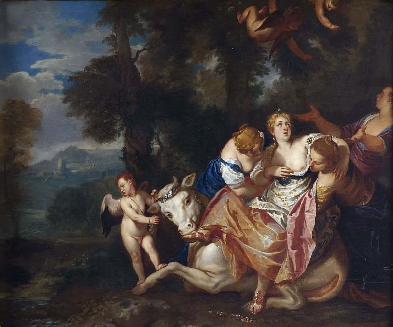 The Rape of Europa. Veronese (Paolo Cagliari) (After)