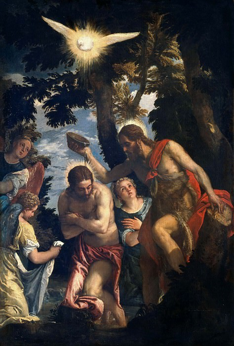 The Baptism of Christ. Veronese (Paolo Cagliari)