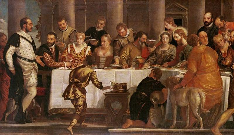 Свадебный пир в Кане. Веронезе (Паоло Кальяри)