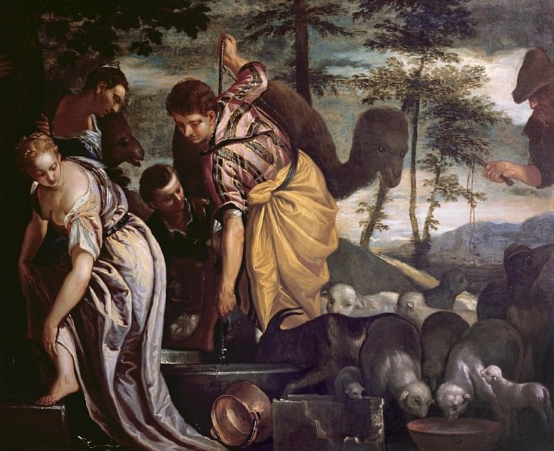 Jacob at the Well. Veronese (Paolo Cagliari)
