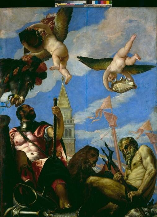 Mars and Neptune. Veronese (Paolo Cagliari)