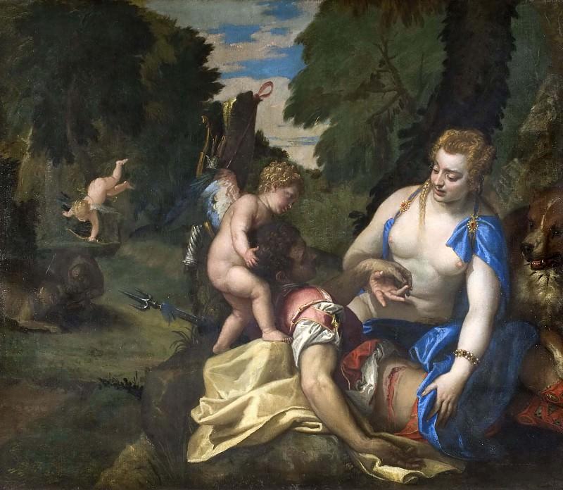 Venus Mourning Adonis. Veronese (Paolo Cagliari)