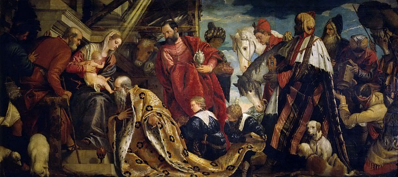 Adoration of the Magi. Veronese (Paolo Cagliari)