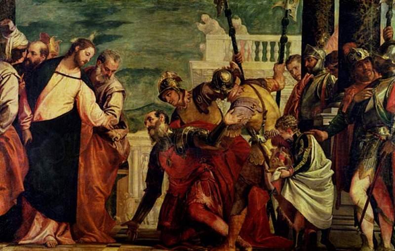 Иисус и Центурион. Веронезе (Паоло Кальяри)