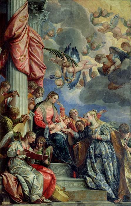 Мистический брак святой Екатерины. Веронезе (Паоло Кальяри)