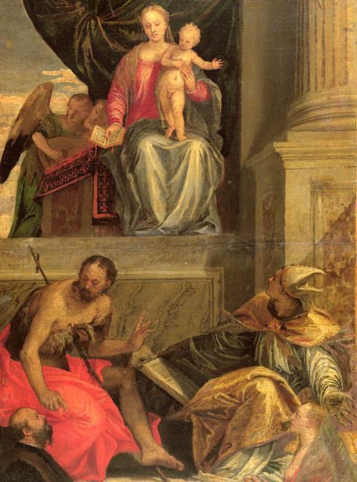Sketch for the Bevilacqua Altarpiece. Veronese (Paolo Cagliari)