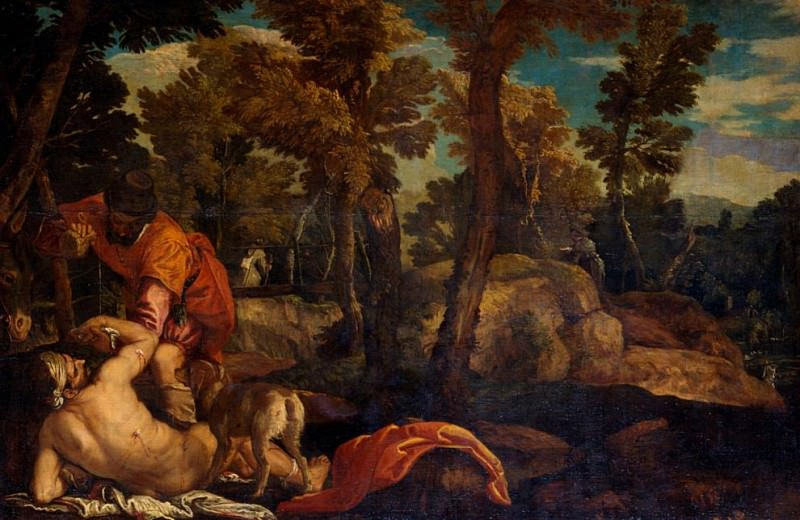 The Good Samaritan. Veronese (Paolo Cagliari)
